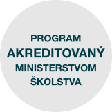 Program akreditovaný Ministerstvom školstva